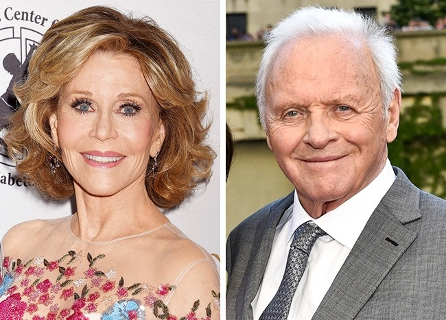 Jane Fonda és Anthony Hopkins— 79évesek
