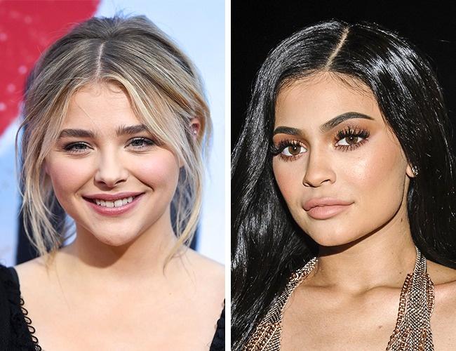 Chloë Grace Moretz és Kylie Jenner— 20évesek