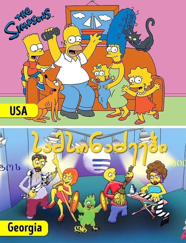 A Simpson család / A Samsonadzes