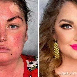 16 előtte és utána kép, ami megmutatja a smink döbbenetes erejét