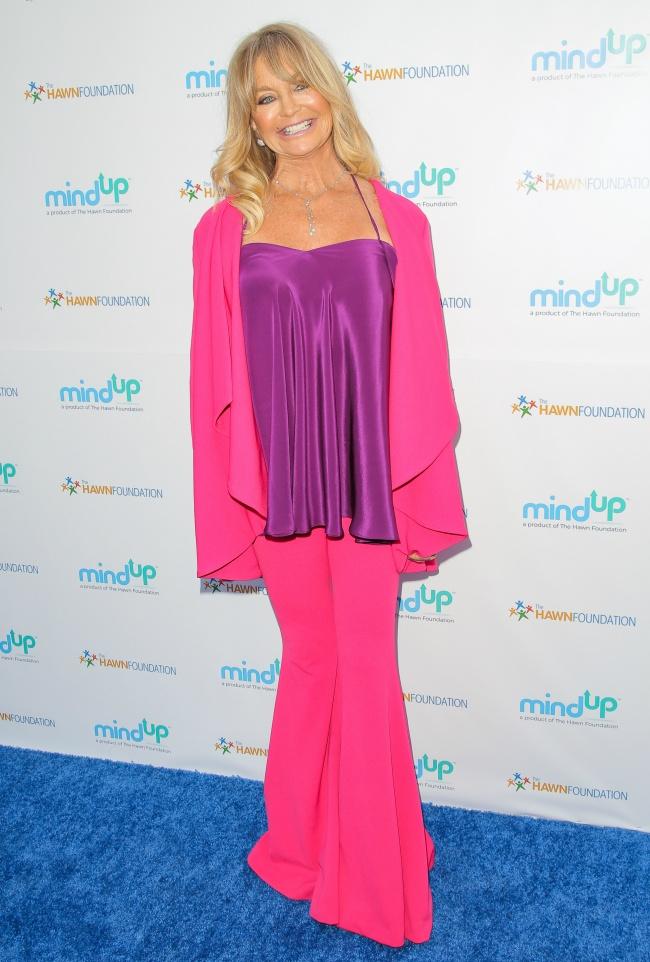 2) Goldie Hawn, 71 éves