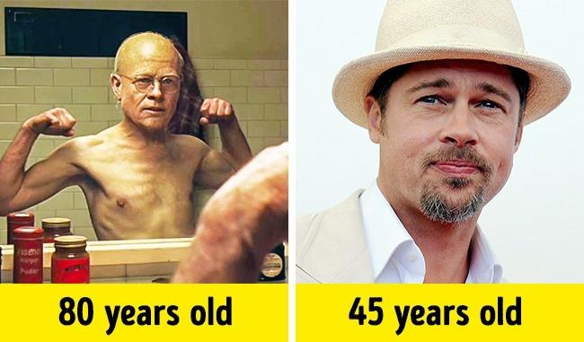 Benjamin Button/ Brad Pitt (Benjamin Button különös élete, 2008)