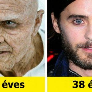 10 színész, aki sokkal idősebb szerepet játszott, mint a valós kora