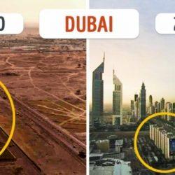 10 világváros, amely mára a felismerhetetlenségig megváltozott