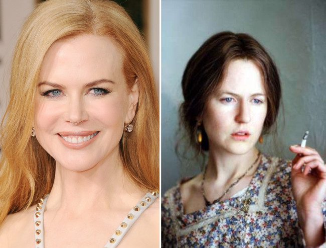 "Nicole Kidman – Virginia Woolf, ""Az órák"""