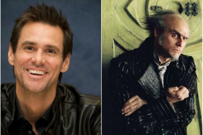 """Jim Carrey – Olaf, """"Lemony Snicket – A balszerencse áradása"""""""