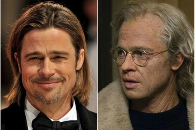 "Brad Pitt–Benjamin Button, ""Benjamin Button különös élete"""