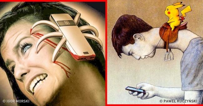 25 megdöbbentő illusztráció, ami bizonyítja, hogy mennyire megőrült a világunk