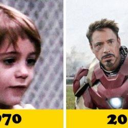 16 világhírű színész az első filmjében és most