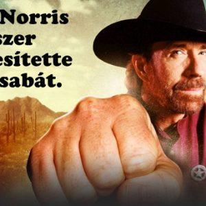 Minden idők 20 legviccesebb Chuck Norris beszólása