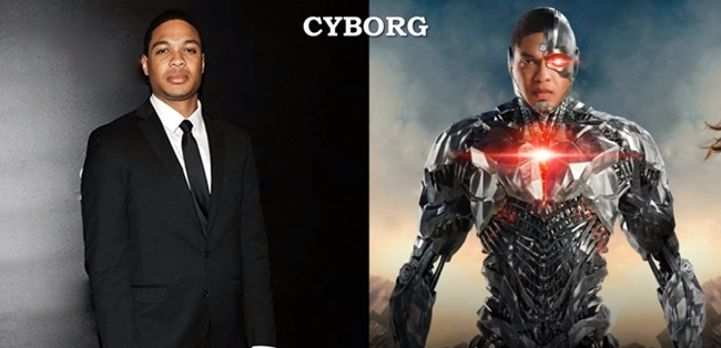 Ray Fisher - Cyborg