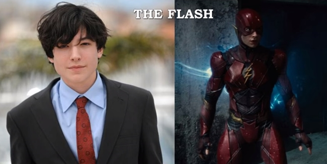 Ezra Miller - Barry Allen / Flash