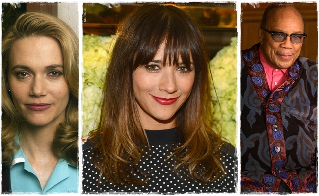 Rashida Jones (Peggy Lipton és Quincy Jones gyermeke)