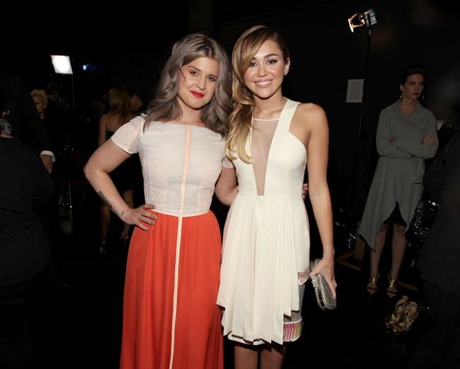 Kelly Osbourne & Miley Cyrus