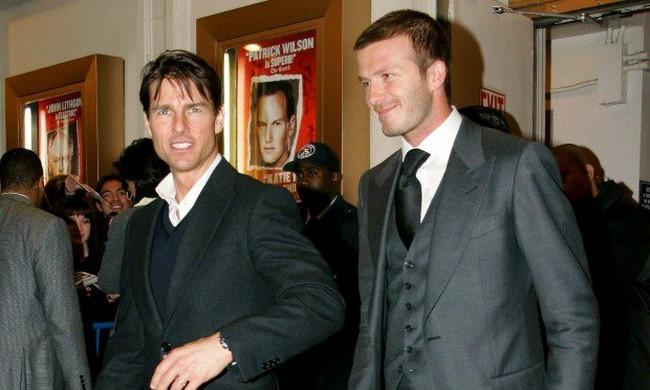Tom Cruise & David Beckham