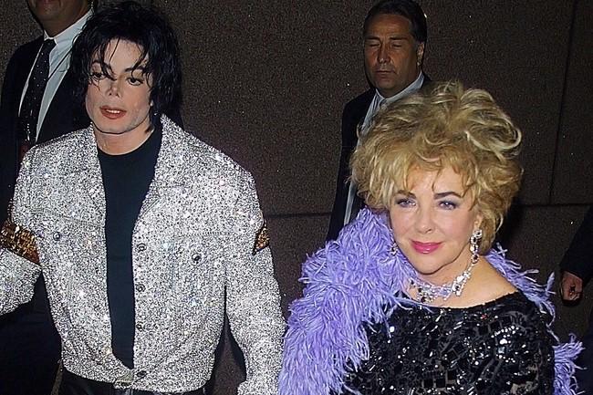 Elizabeth Taylor & Michael Jackson