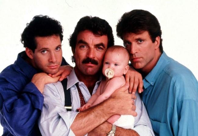 Három férfi és egy bébi /Three Men and a Baby, 1987/
