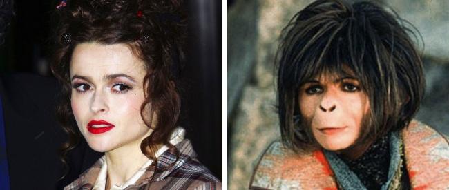 2. Helena Bonham Carter - Majmok bolygója, 2001