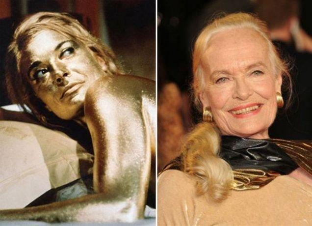 "2. Shirley Eaton, ""Goldfinger"" (1964)"