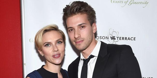 Hunter Johansson és Scarlett Johansson