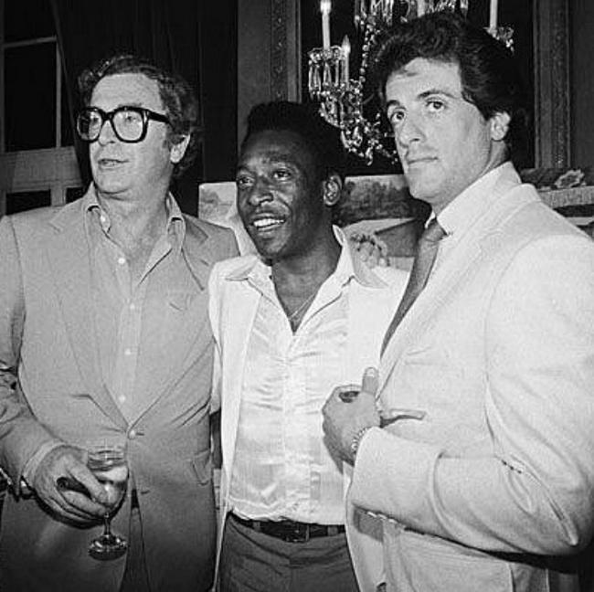 Michael Caine, Pelé és Sylvester Stallone