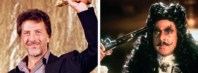 4. Dustin Hoffman - Hook, 1991
