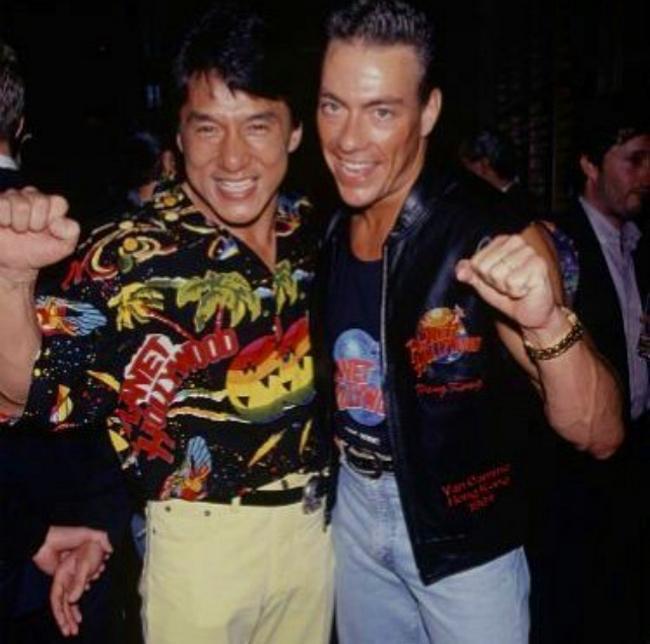 Jackie Chan és Jean-Claude Van Damme