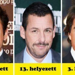 Elképesztően meglepő lista a világ 20 leggazdagabb színészéről