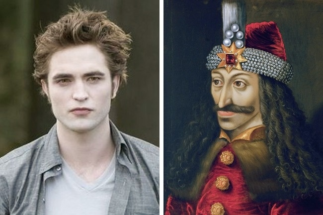 Robert Pattinson és Drakula gróf