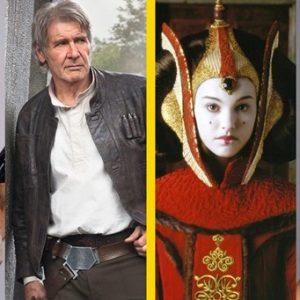 Star Wars szereplők régen és most