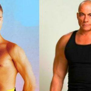 Jean Claude Van Damme így változott meg az évtizedek során