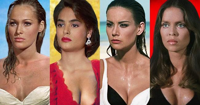 A leghíresebb James Bond-lányok akkor és most
