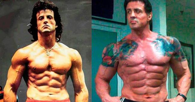 Sylvester Stallone így változott meg az évtizedek során