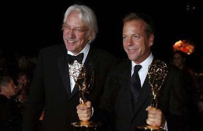Donald Sutherland és Kiefer Sutherland