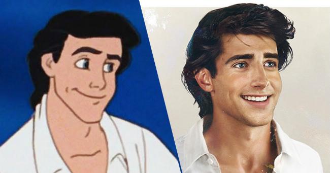 Így néznének ki kedvenc Disney hercegeink a valóságban