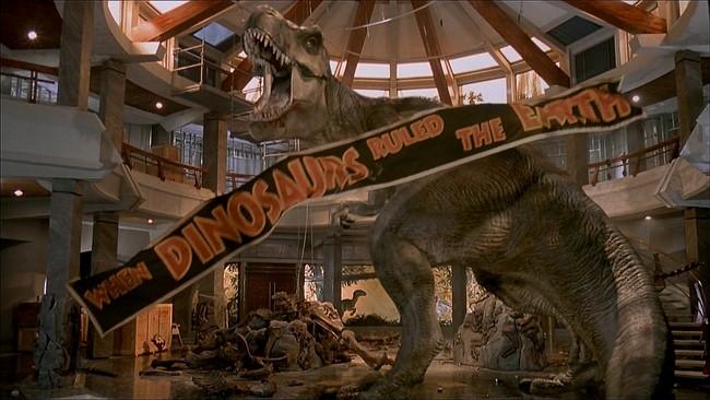 T-Rex -Jurassic Park