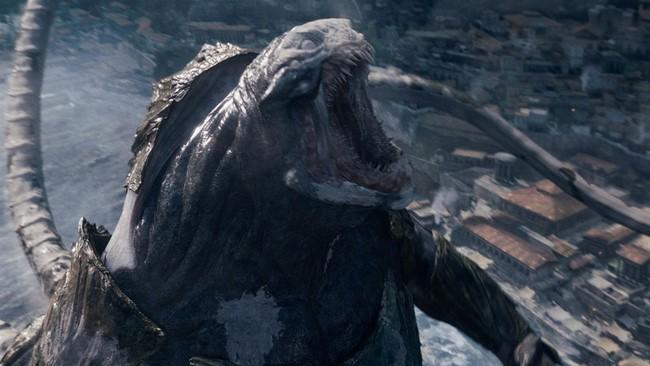 Kraken,Titánok harca