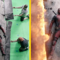 15 hihetetlen filmjelenet a speciális effektek előtt és után