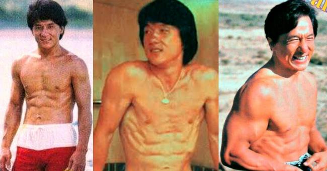 Jackie Chan így változott meg az évtizedek során