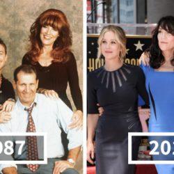 Híres filmek és sorozatok szereplői akkor és most