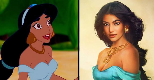 Így néznének ki kedvenc Disney hercegnőink a valóságban