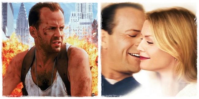 Bruce Willis Drágán add az életed (1988) – Velem vagy nélküled (1999)