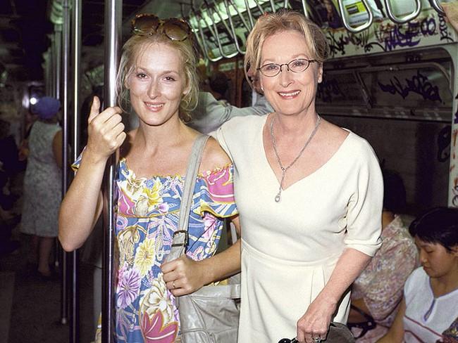 2) Meryl Streep