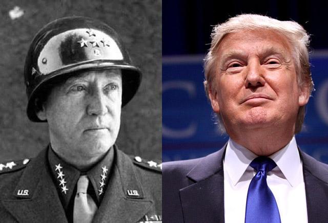 4. George Patton tábornok és Donald Trump