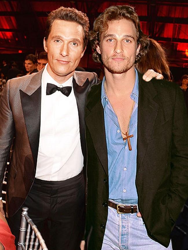 1)Matthew McConaughey