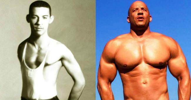 Vin Diesel így változott meg az évtizedek során