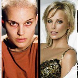 10 híres színésznő, aki kopaszra borotválta a fejét egy szerepért