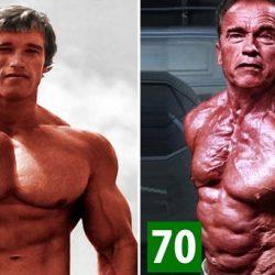 Arnold Schwarzenegger így változott meg az évtizedek során