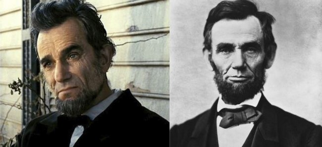 1. Daniel Day - Abraham Lincoln