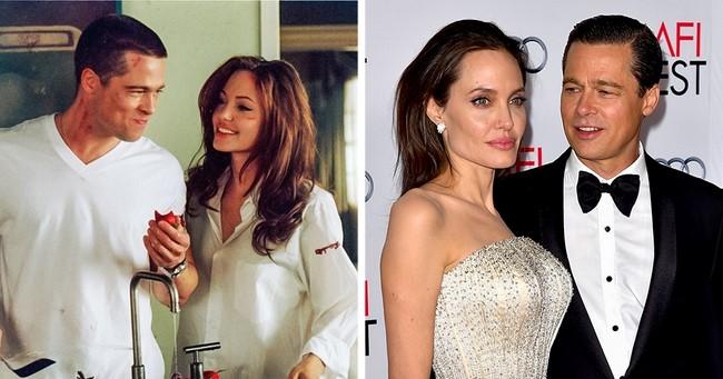2)Brad Pitt és Angelina Jolie